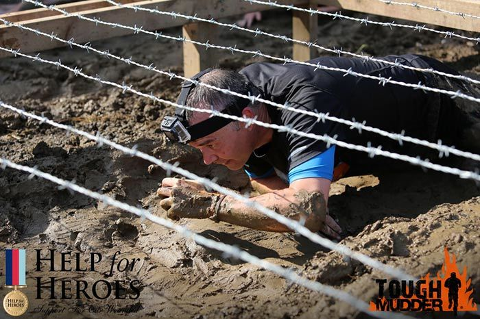 Tough Mudder Nick Stubbs Barbed Wire Run