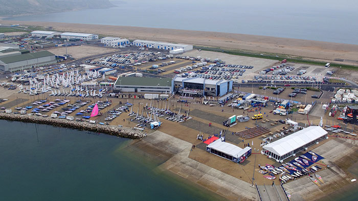 Aerial Filming of the Sailing World Cup