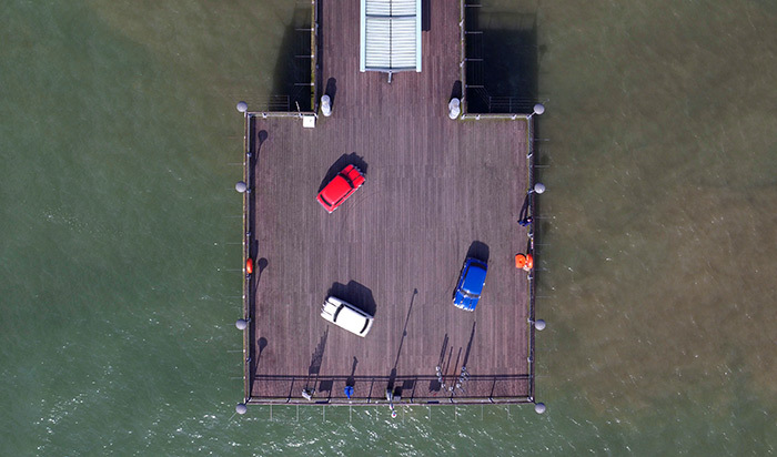 Bournemouth Italian Job Aerial Video
