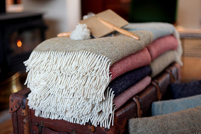 Pure Wool Blankets from Simply Dorset