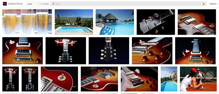 Commercial Guitar Shoot for Stock