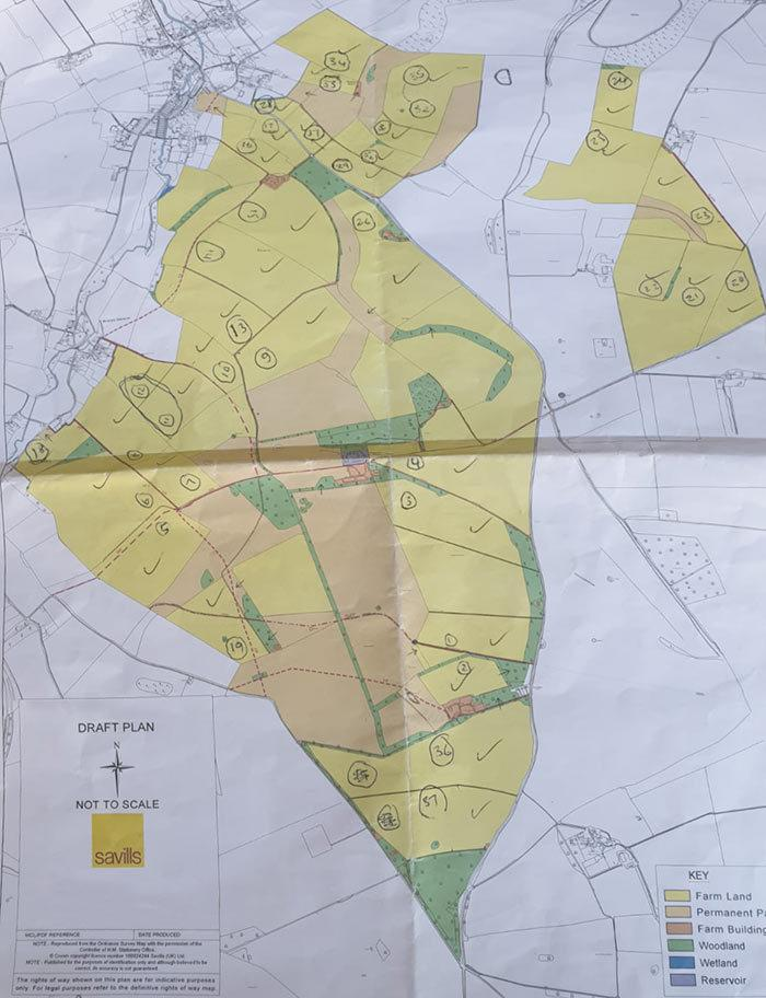 Aerial Mapping of a Farm