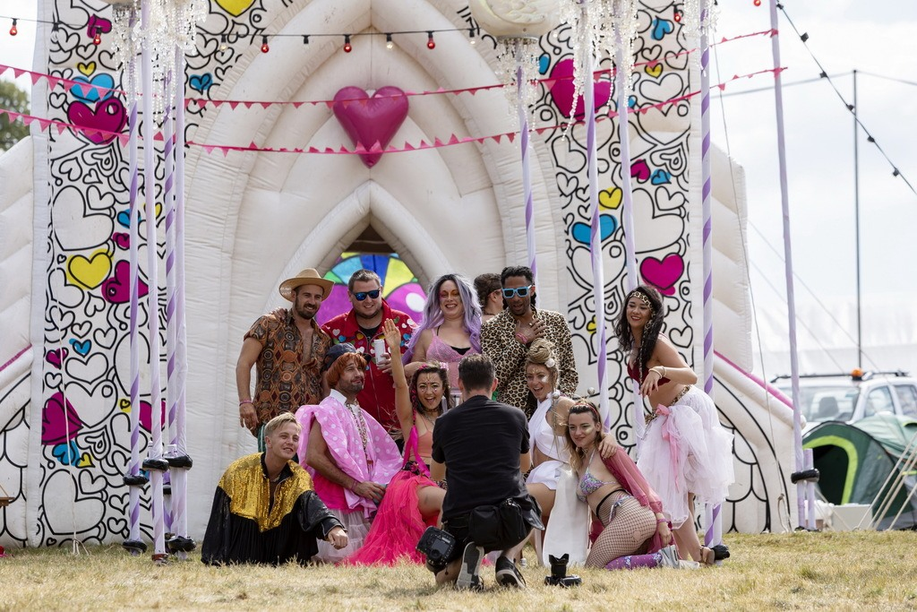 Duracell Shoot at Camp Bestival