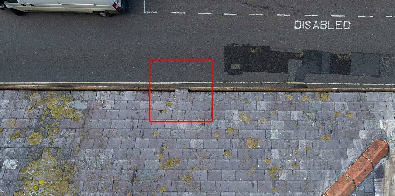 Drone Roof Survey Sherborne High Street