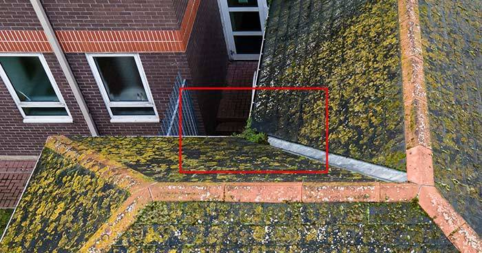 Drone Roof and Gutter Inspection