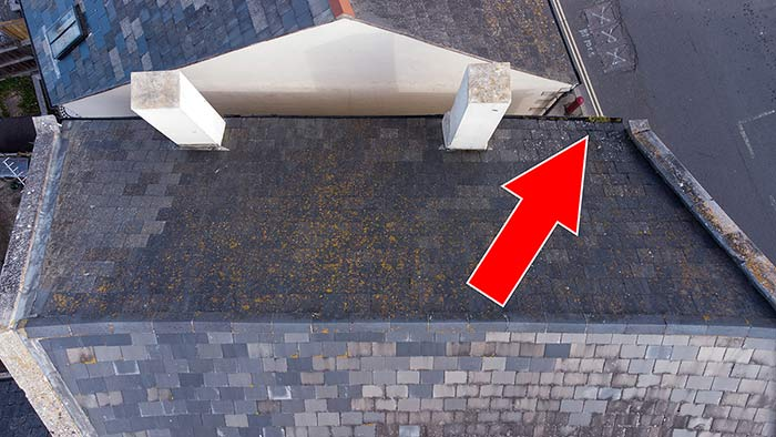 Aerial Roof Inspections Portland